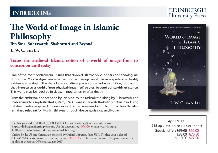 Flyer The World of Image in Islamic Philosophy
