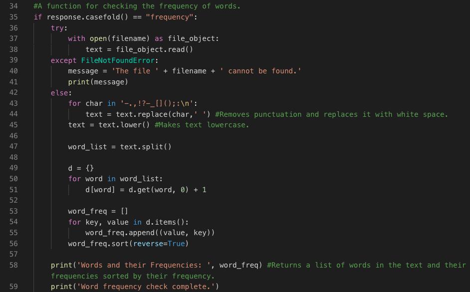 Making a Basic Textual Analysis program in Python | The