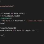 Basic Python for Japanese Studies: Using fugashi for Text Segmentation